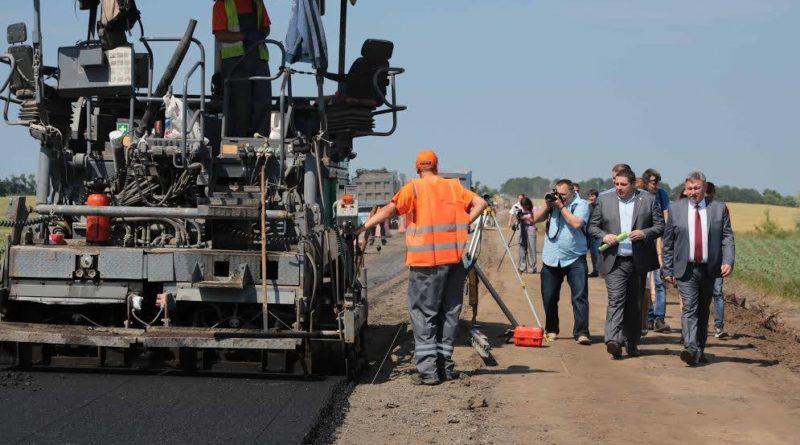 Триває ремонт дороги яка з'єднує Луганщину і Донеччину