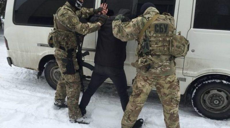 СБУ задержании офицера, который торговал оружием из зоны ООС