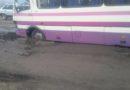 На Луганщине рейсовый автобус провалился под асфальт, дороги Марковщины в критическом состоянии