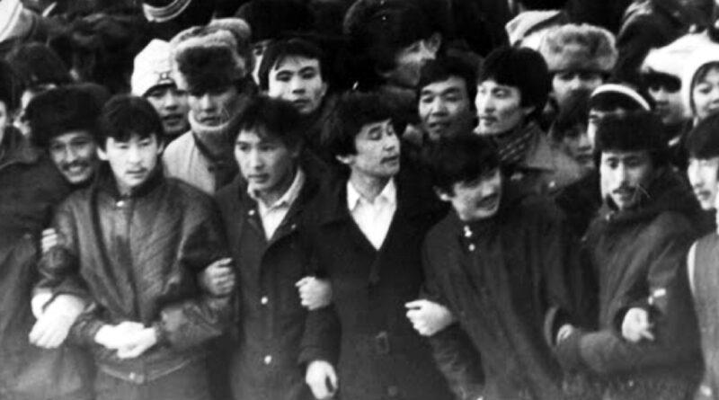 Казахский Майдан декабрь 1986 года. Желтоксан