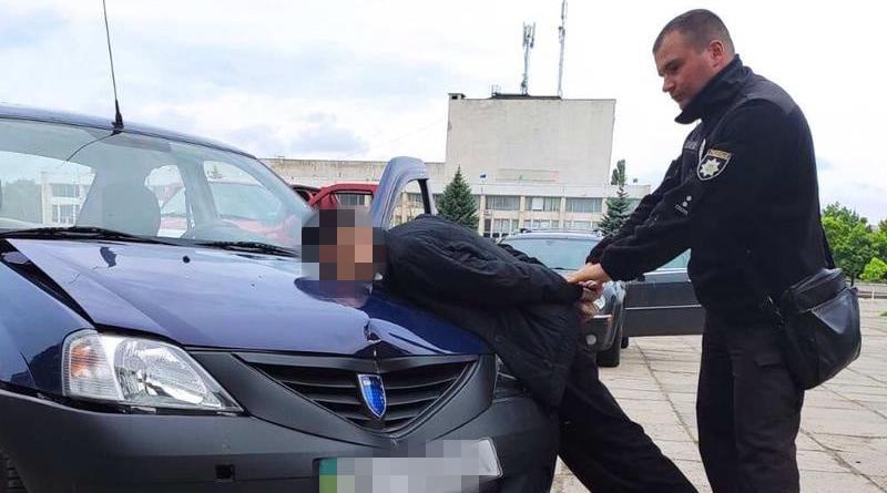 На Луганщині затриманий чоловік, який збив поліцейського