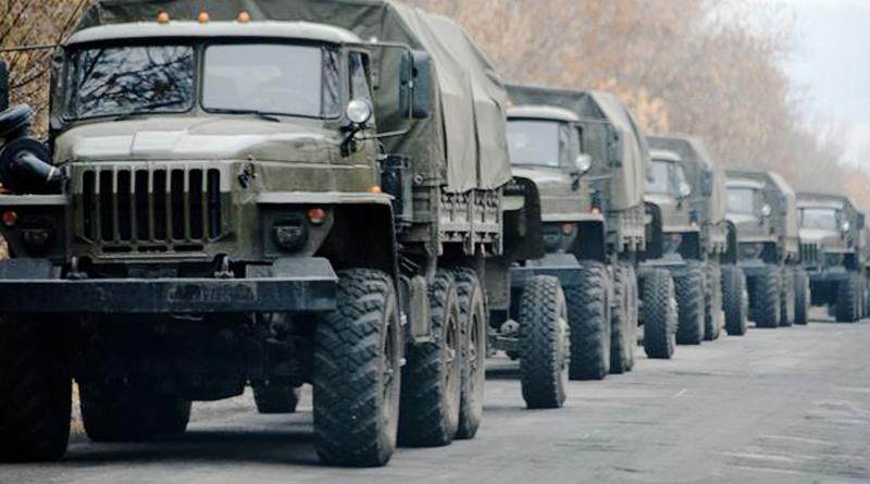 З Росії в ОРДЛО йдуть військові колони